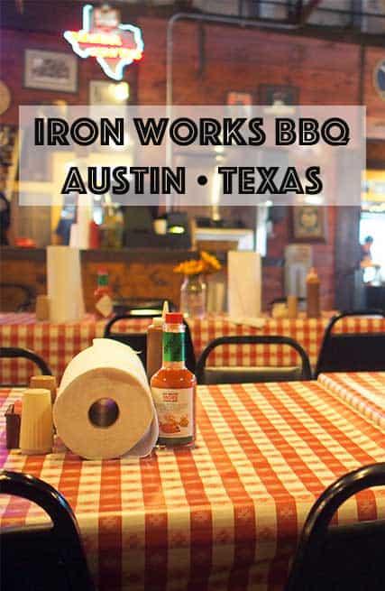 Iron Works BBQ Austin Texas - The Yums