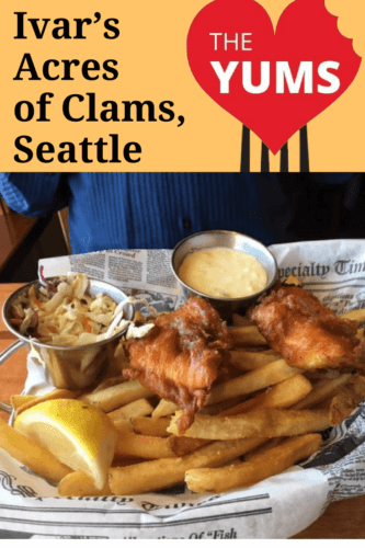 I returned to Ivar's after an absence of four decades. While the restaurant decor has changed, more wood and open spaces rather than glass sea floats and netting, the commitment to attentive service and fresh seafood haven't changed a bit.