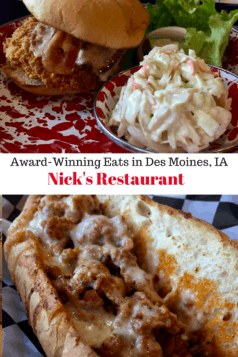 Nick's is a casual eatery in Des Moines, Iowa, the pork capital of America. This 2016 Best Tenderloin award-winning family style restaurant ranks as the best pork tenderloin in the state by the Iowa Pork Producers Association.