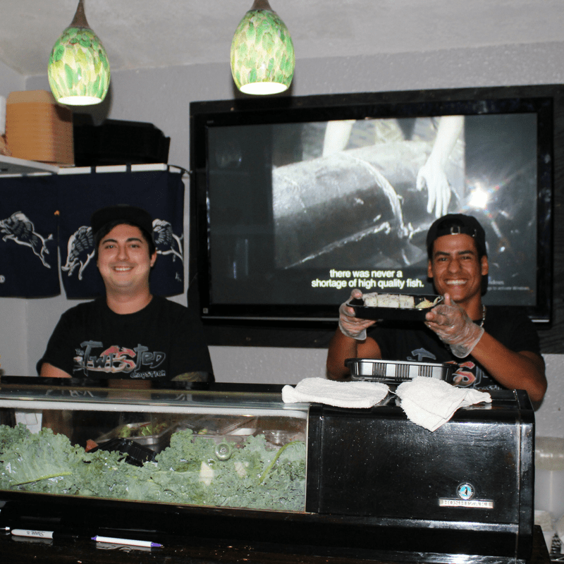 The Twisted Chopstick in DeLand, Florida: Innovative, Creative Sushi
