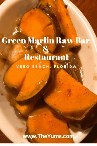 The Green Marlin Raw Bar & Restaurant in Vero Beach, FL. The Green Marlin Raw Bar & Restaurant in Vero Beach, FL where Irish Pub meets Seafood restaurant for delicious, fresh food.