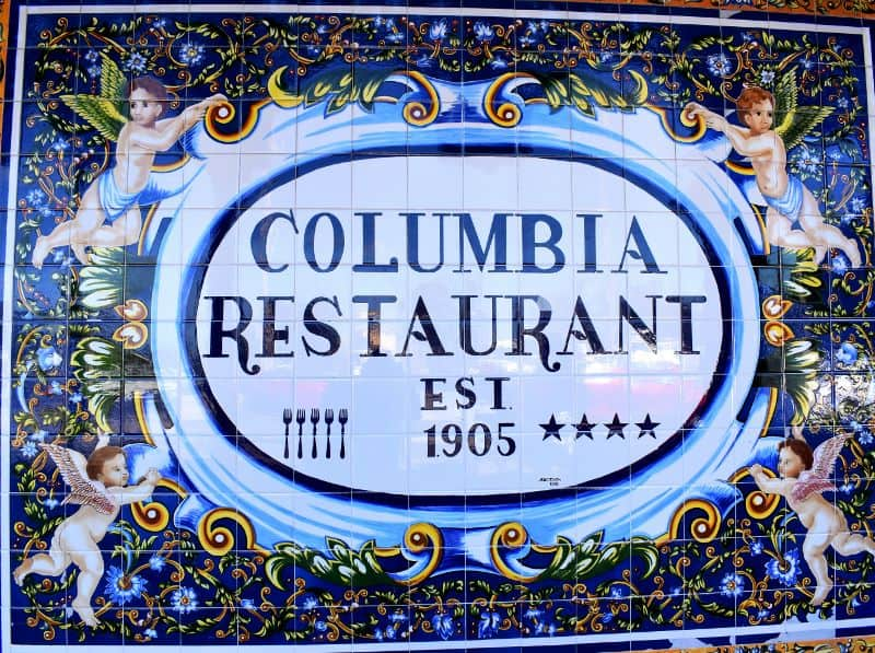 Columbia Restaurant is the oldest restaurant in Florida.