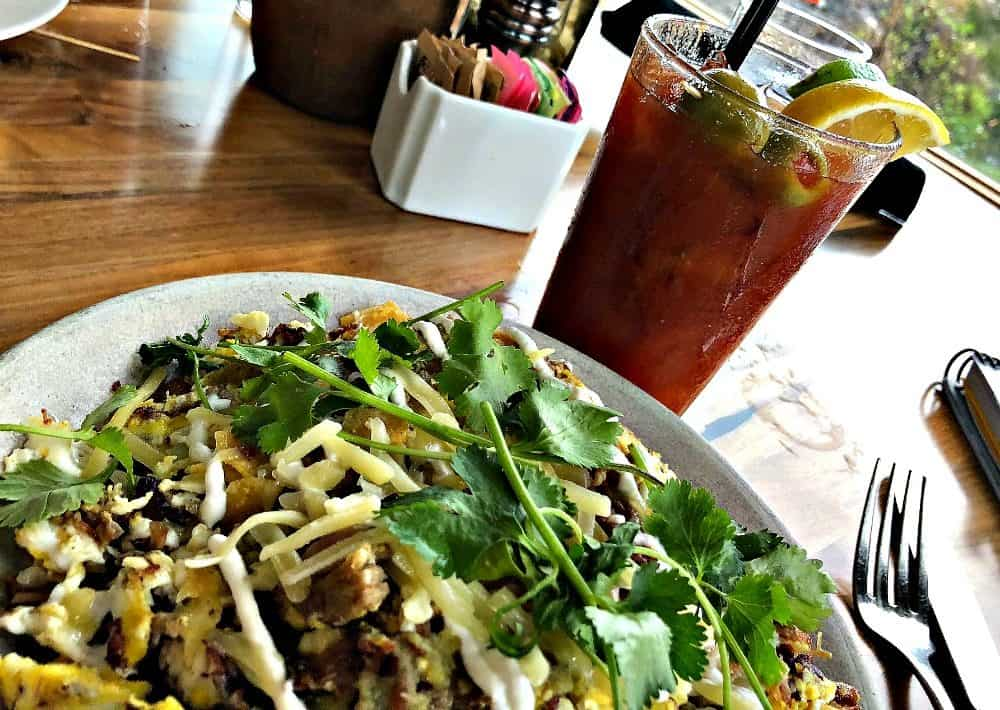 chilaquiles at friday harbor house