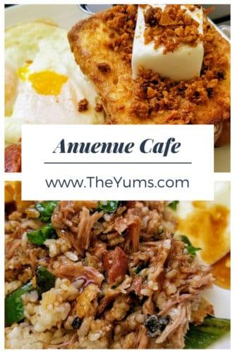 Macadamia nut French toast and Kalua pork fried rice at Anuenue Cafe. Read the review here. #fromtheyums #hawaii #kauai