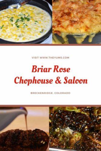 Enjoy your favorite chophouse specialties at Briar Rose in Breckenridge, Colorado.