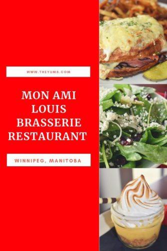 Enjoy French brasserie cuisine at Mon Ami Louis in Winnipeg, Manitoba.