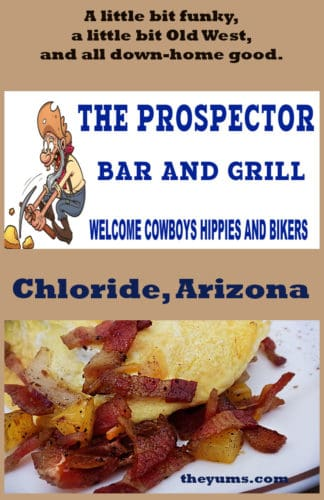Pin It-The Prospector Bar & Grill, Chloride, Arizona