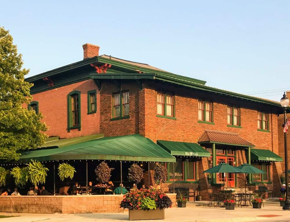 exterior of the willard in franklin indiana