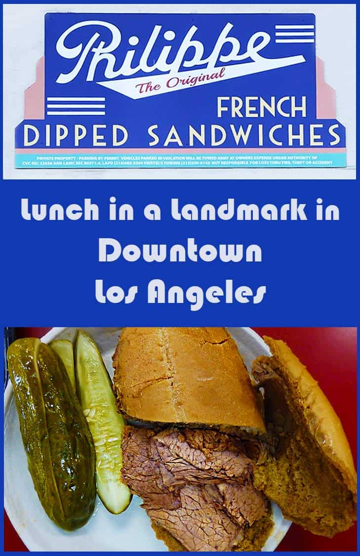 Pin for Philippe the Original French Dipped Sandwiches in Downtown Los Angeles/DTLA