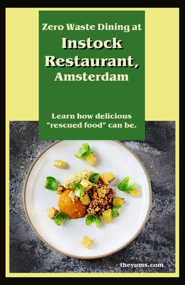 Instock Restaurant pinnable image
