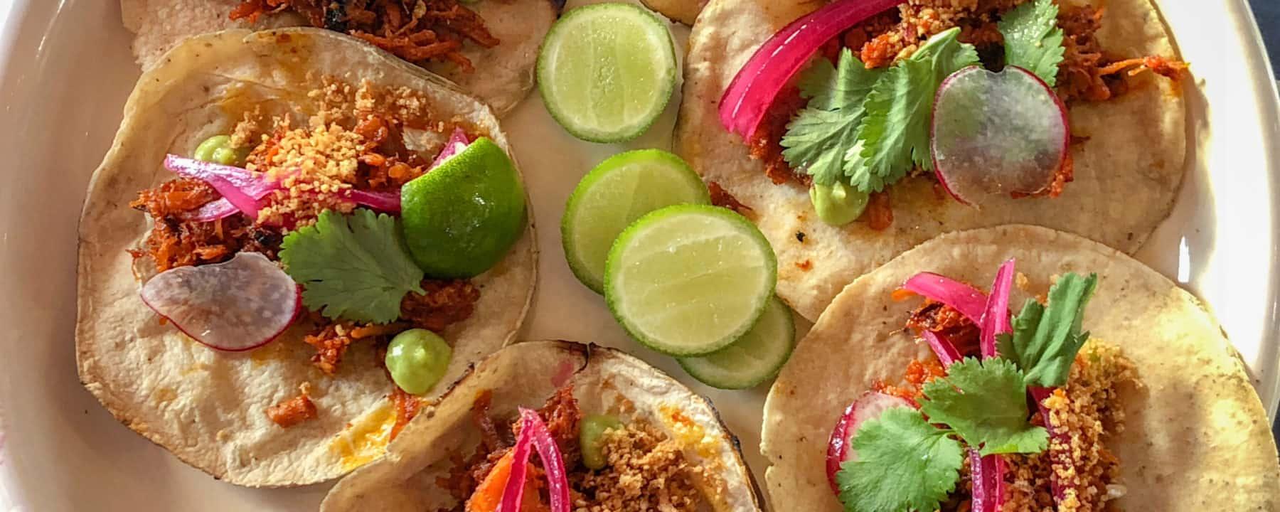 Suckling roast pig tacos at Casa Frida