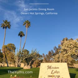 Pinterest A dining oasis in the Coachella Valley