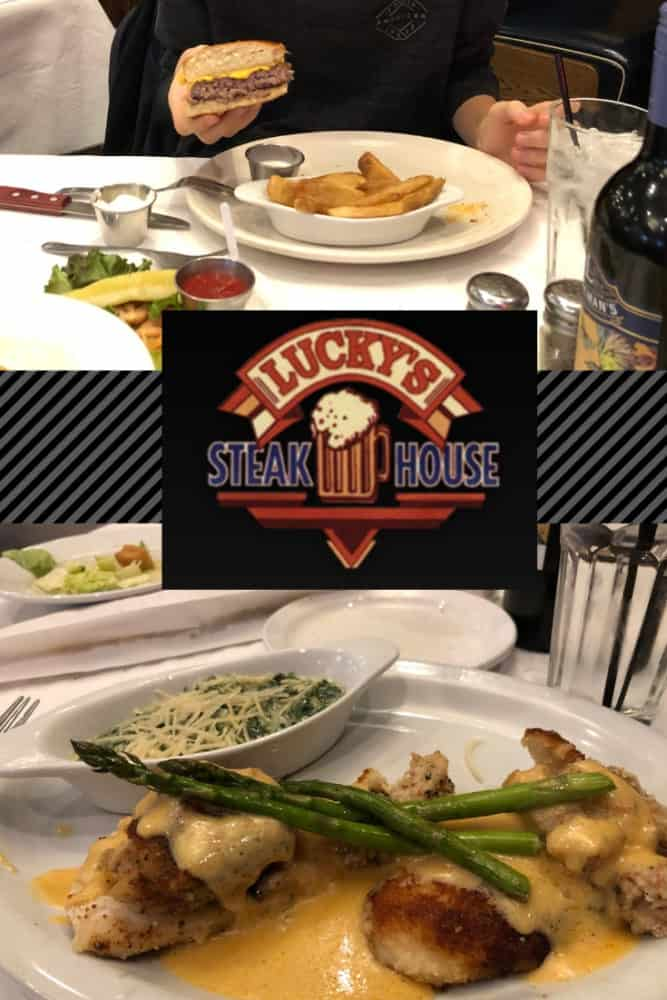 Most people drive right by the small town of Fenton, Michigan where there are about 11,750 inhabitants. But those who live there know it boasts some good eats. One of which is Lucky's Steakhouse.
