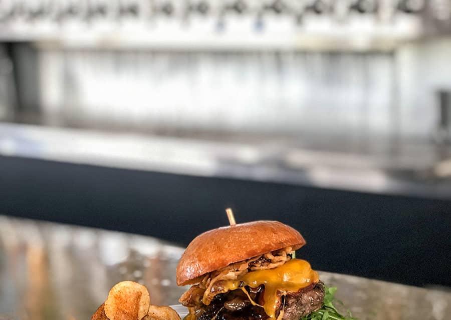 Tackle box bbq burger