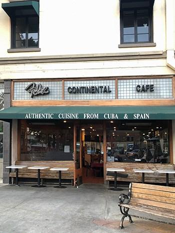 Felix Continental Cafe Orange California
