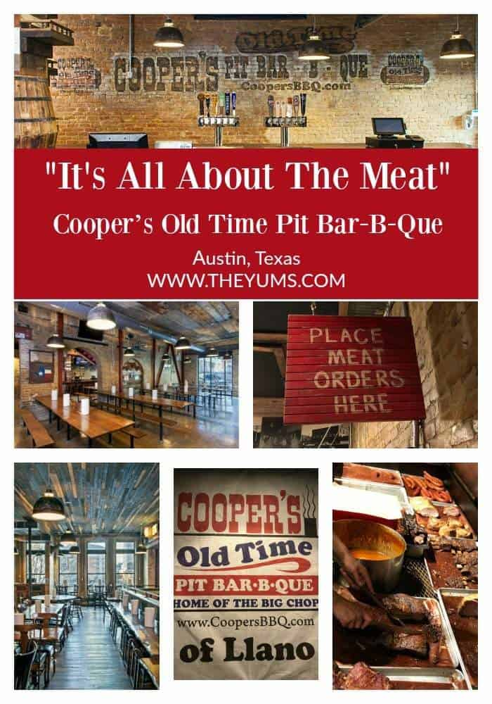 Celebrating the history of Congress Avenue in the early 20th century, Cooper's Old Time Pit Bar-B-Que brings delicious food, live music, and local flare to downtown Austin.