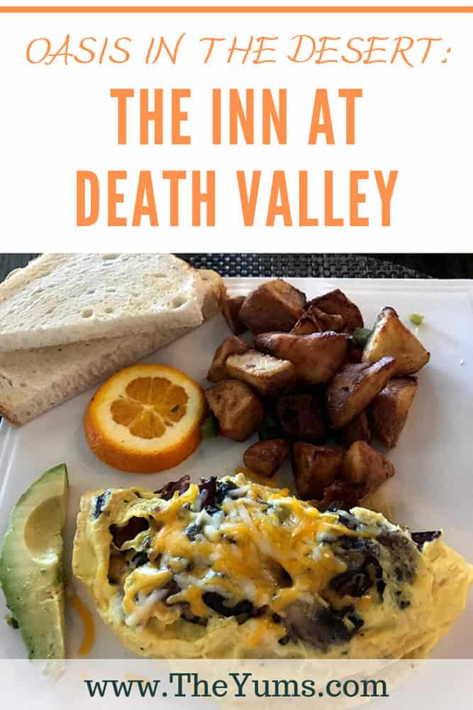 The Inn Dining Room at the Inn at Death Valley serves the hotel guests, those camping or hiking the Park, those driving through or staying at the nearby Ranch at Death Valley. Read the review. #restaurants #fromtheyums #california