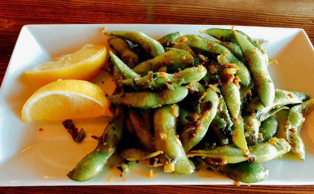 Hula's Appetizer - Spicy Edamame - Hula's Modern Tiki