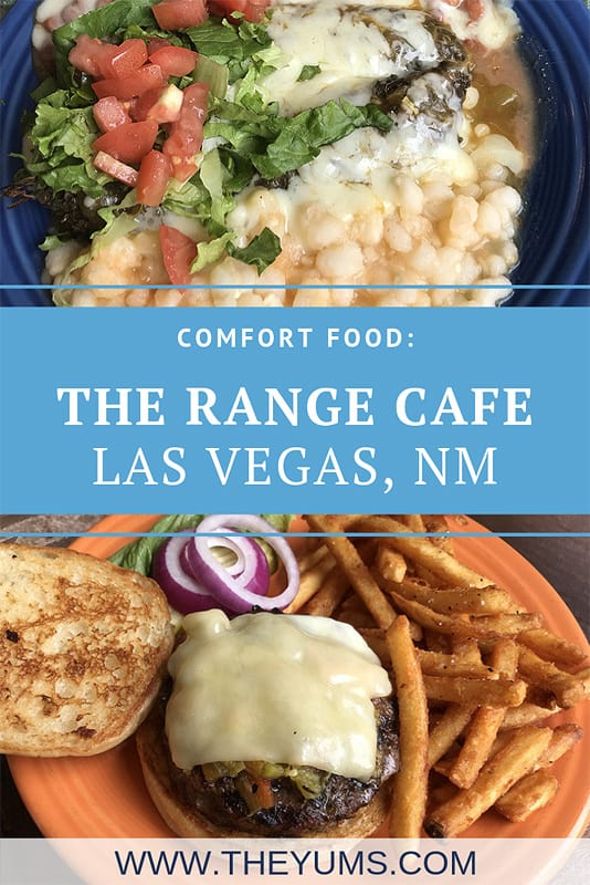 Comfort food dishes served at the Range Cafe, in Las Vegas, New Mexico.