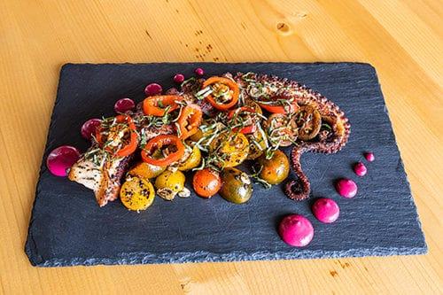 Oyster Bar Spanish Octopus