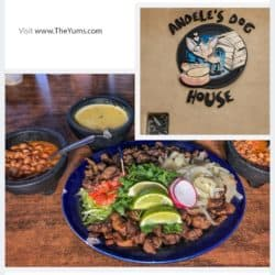 Authentic Mexican at Andelé's Dog House