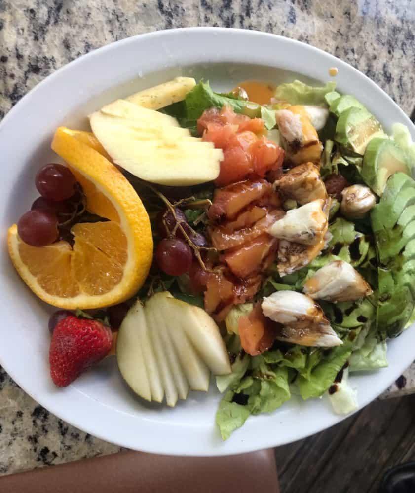 Crab and Avocado Salad at Brave New Restaurant