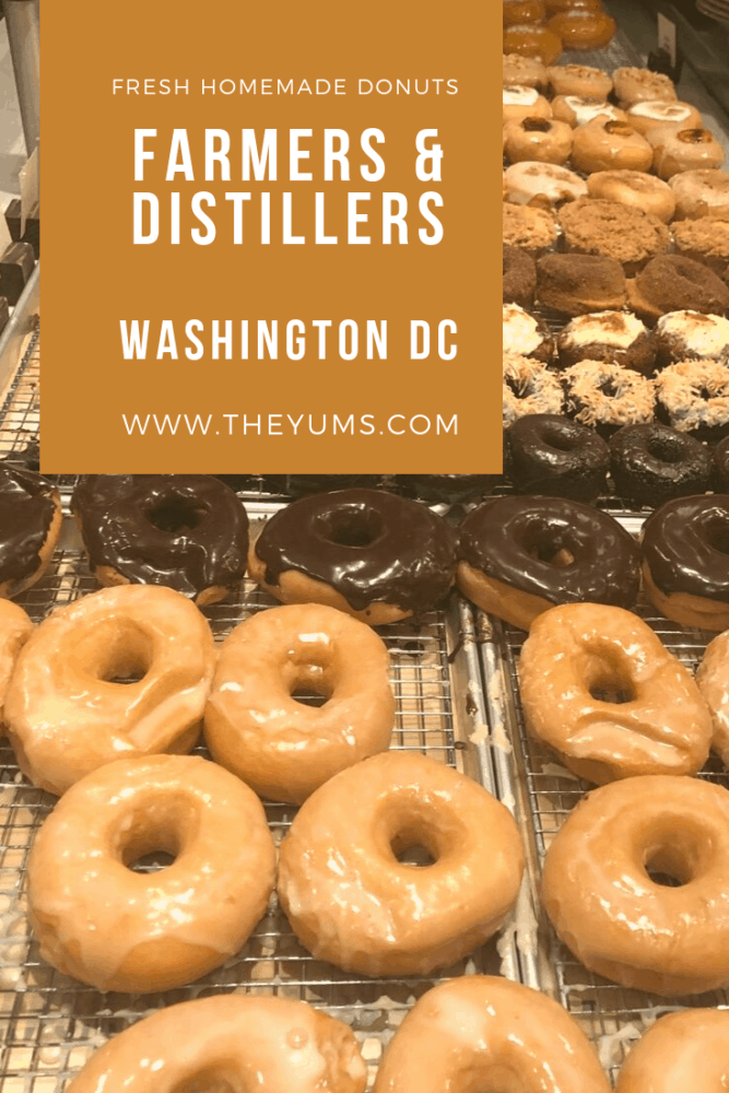 Delicious fresh food from local farmers. Homemade donuts and other scruptious desserts, fresh meats and vegetables. Read the review. #fromtheyums #foodie  #restaurant #WashingtonDC #donuts