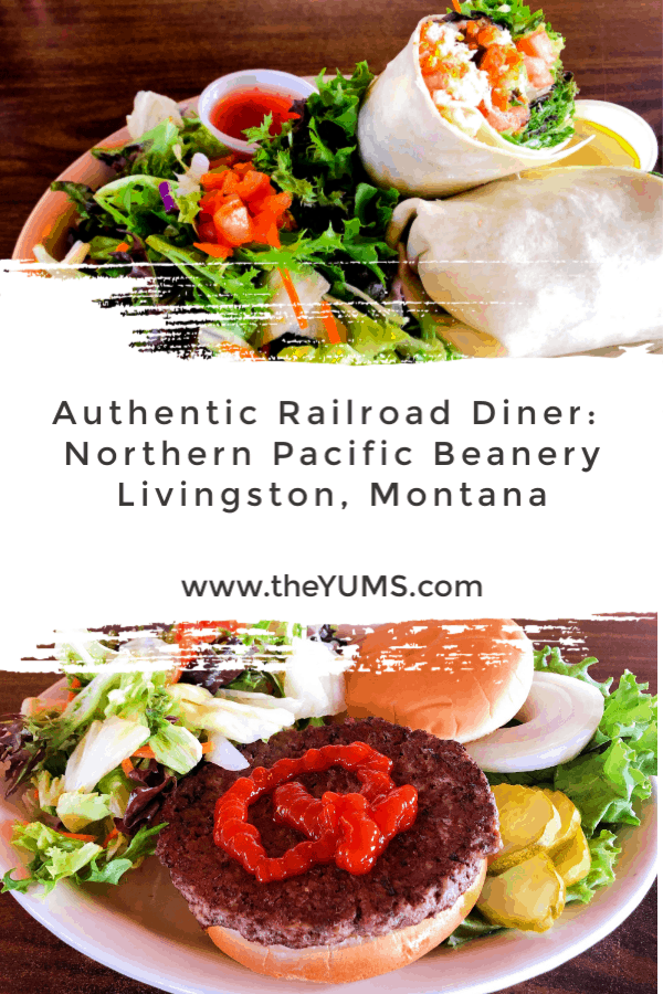 The sounds of the train passing by can be heard as you enter the Northern Pacific Beanery, an authentic train depot eatery since the early 1900's.