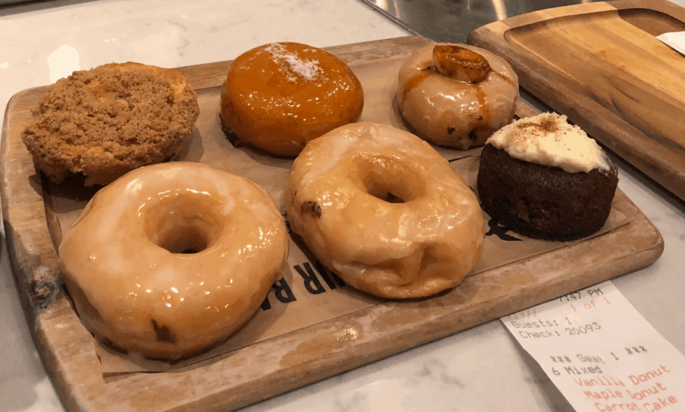 Delicious fresh food from local farmers. Homemade donuts and other scruptious desserts, fresh meats and vegetables. #fromtheyums #foodie #restaurant #WashingtonDC #donuts