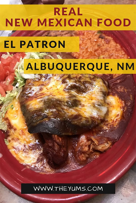 The unique cuisine of New Mexico evolves from traditional Mexican dishes that have been transformed with local chiles into tasty and fiery hot fare. Add sopapillas and margaritas and you will feel you have been transported to a family restaurant in an old town square. At El Patron, you'll want to linger and enjoy not just the food, but the atmosphere.