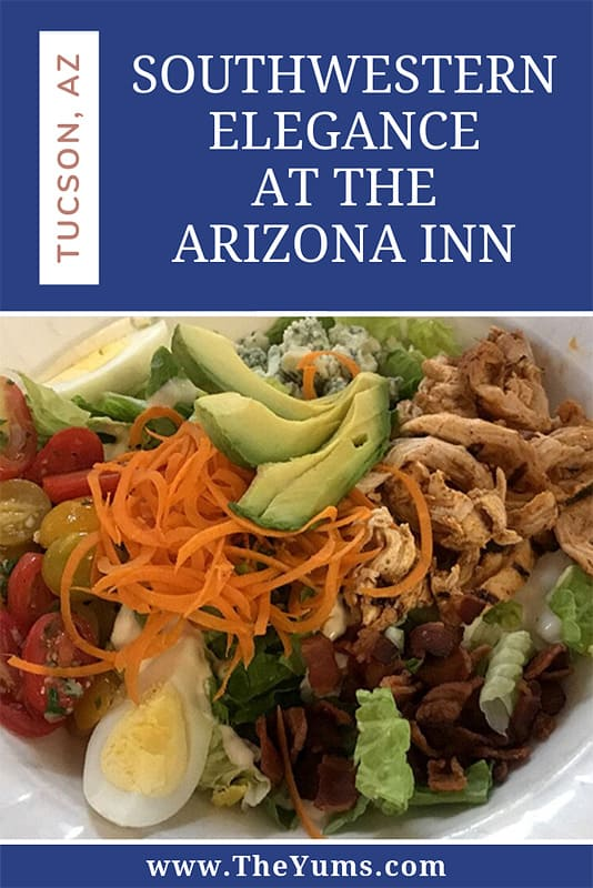 Fancy, but not stuffy,the Dining Room at the Arizona Inn is a place to linger over your expertly prepared food, enjoying your companions and the ambiance that is quintessential Tucson.