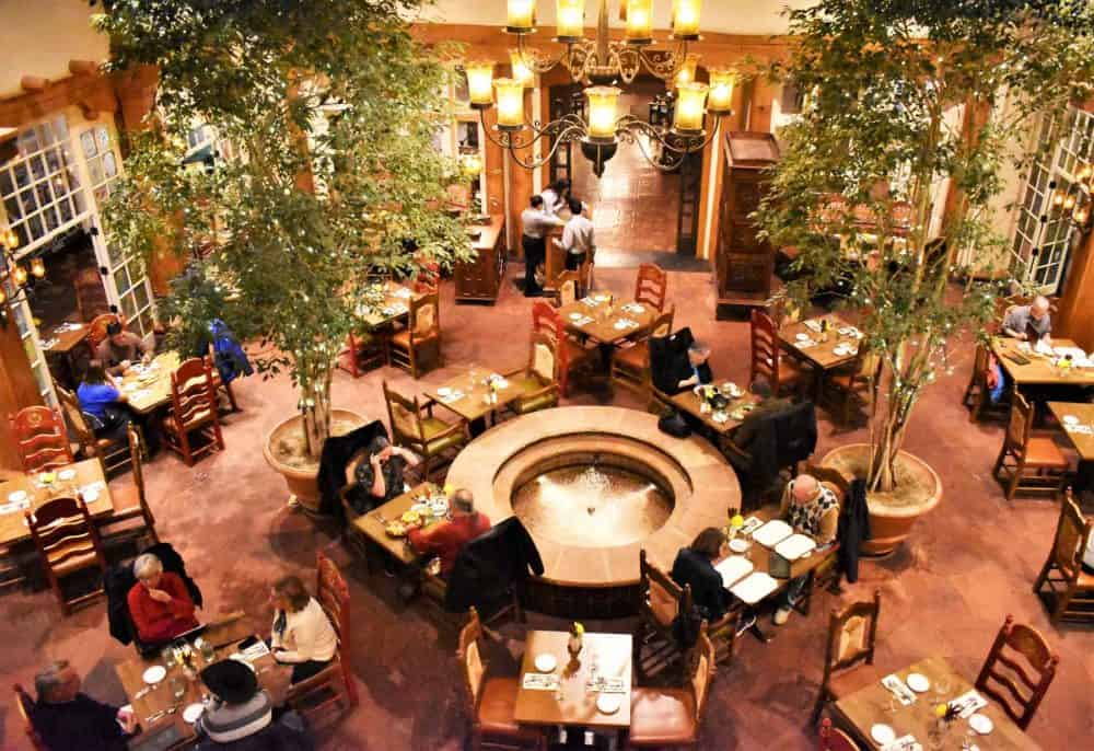 A view of the La Plazuela dining room