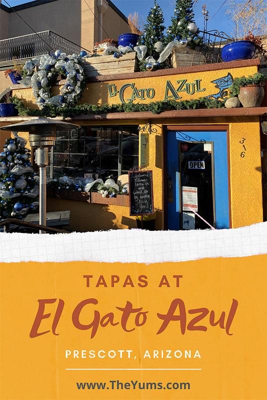 Tapas El Gato Azul Prescott Arizona