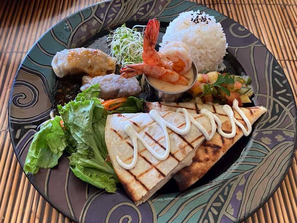 Fresh, Creative Pacific Rim Fare at Bamboo Restaurant in Hawi, Hawaii